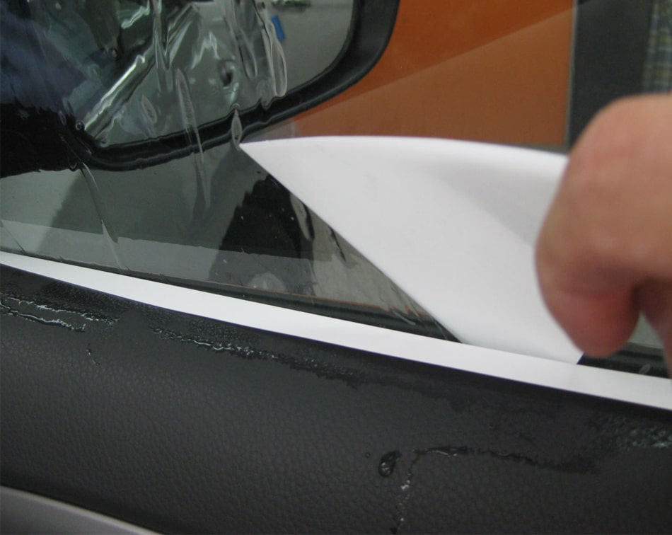 Pvc Hard Card for paint protection film working