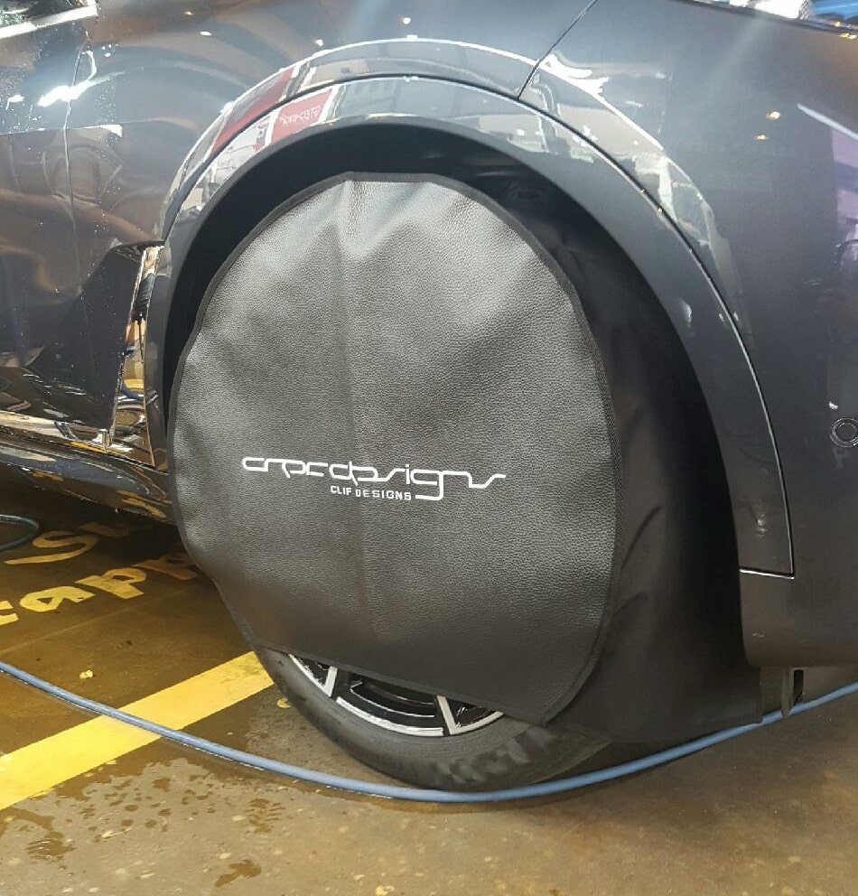 Tire Cover for paint protection film works